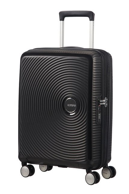 American Tourister,Soundbox Trolley Bagaglio a Mano Bass Black 32G*09001