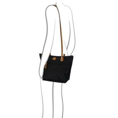 Bric's, X-Bag Borsa Shopping Nero BXG45071.101