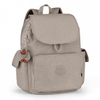 Kipling, City Pack L Zaino Grande Warm Grey K18735828