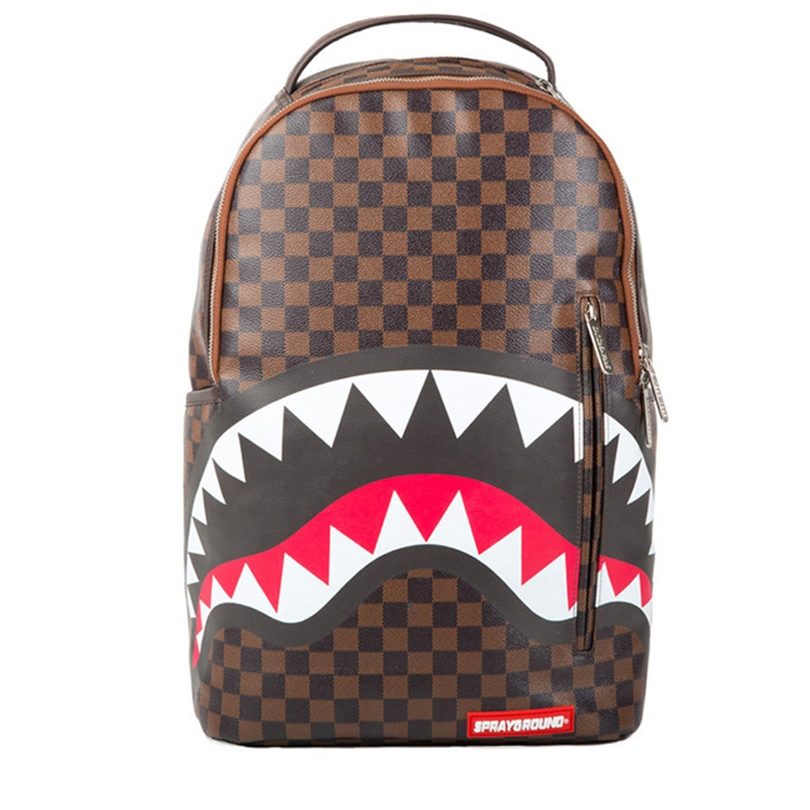 Sprayground Zaino Sharks in Paris, Brown B873
